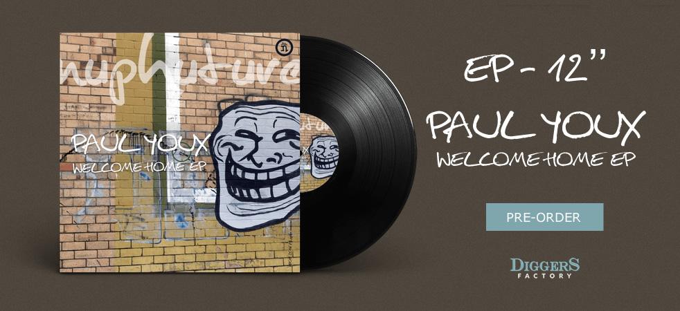 Paul Youx - Welcome Home EP - Vinyl